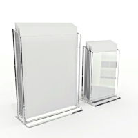 Acrylic data frame